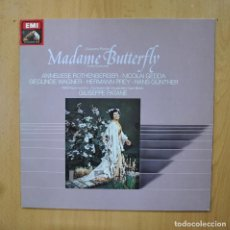 Discos de vinilo: PUCCINI - MADAME BUTTERFLY - LP. Lote 289407998
