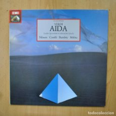 Discos de vinilo: VERDI - AIDA - LP. Lote 289408038