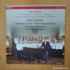 Discos de vinilo: JOSE CARRERAS - AVE MARIA - LP. Lote 289408053