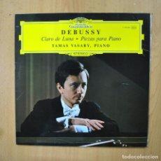 Discos de vinilo: DEBUSSY - CLARO DE LUNA / PIEZAS PARA PIANO - LP. Lote 289408073