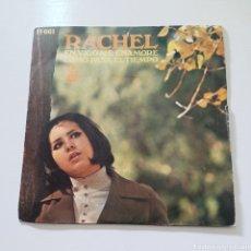 Discos de vinilo: RACHEL - EN VIGO ME ENAMORE, COMO PASA EL TIEMPO H 661 HISPAVOX. Lote 289409953
