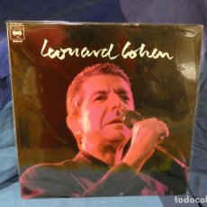 Discos de vinil: CAJJ143 LP ESPAÑA 1988 LEONARD COHEN LP HOMONIMO MUY BUEN ESTADO PROMOCIAONAL. Lote 289410808