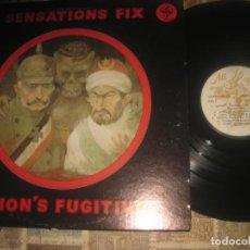 Discos de vinilo: SENSATIONS' FIX – VISION'S FUGITIVESALL EARS RECORDS – SF 11478 1977 O G USA PROGRESIVO ITALIANO.. Lote 289424058