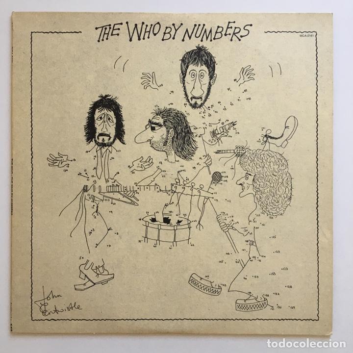THE WHO – THE WHO BY NUMBERS, US 1975 MCA RECORDS (Música - Discos - LP Vinilo - Pop - Rock Internacional de los 50 y 60)