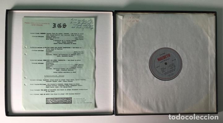 Discos de vinilo: Bloch, LOrchestre De La Suisse Romande, Ernest Ansermet – Macbeth, Secenes From The Opera, US Box - Foto 3 - 289442558