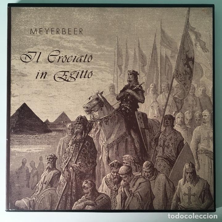 MEYERBEER – IL CROCIATO IN EGITTO, 3 LPS BOX, US BJR (Música - Discos - LP Vinilo - Clásica, Ópera, Zarzuela y Marchas)