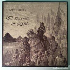Discos de vinilo: MEYERBEER – IL CROCIATO IN EGITTO, 3 LPS BOX, US BJR. Lote 289442733