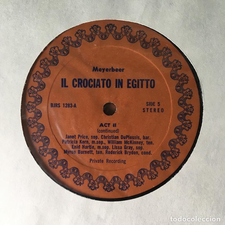 Discos de vinilo: Meyerbeer – Il Crociato In Egitto, 3 LPs Box, US BJR - Foto 9 - 289442733