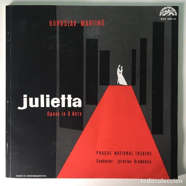 Discos de vinilo: Bohuslav Martinů – Julietta, 3 LPs Box Set, Czech Republic 1964 Supraphonu - Foto 4 - 289442958