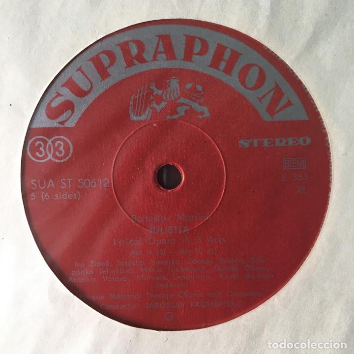 Discos de vinilo: Bohuslav Martinů – Julietta, 3 LPs Box Set, Czech Republic 1964 Supraphonu - Foto 10 - 289442958