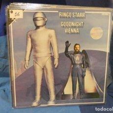 Disques de vinyle: CAJJ143 LP ESPAÑA CIRCA 1985 RINGO STARR GOODNIGHT VIENNA BUEN ESTADO DE CONSERVACION. Lote 289460963