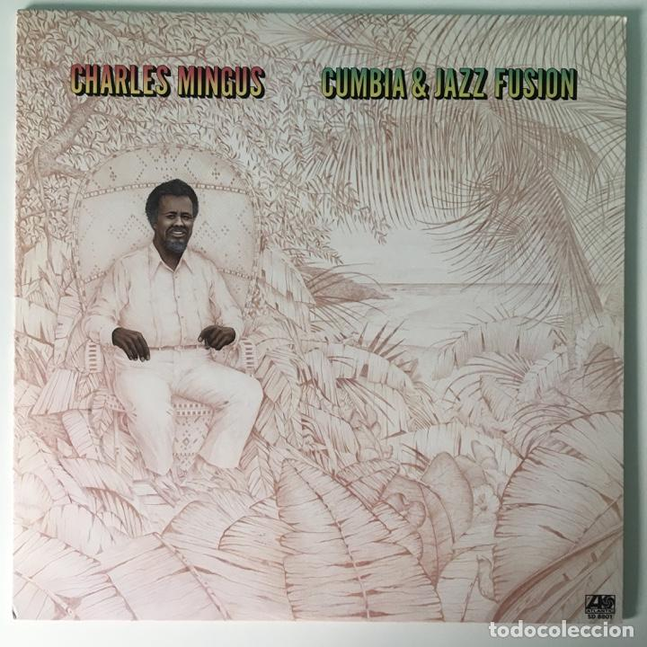 CHARLES MINGUS – CUMBIA & JAZZ FUSION, US 1976 ATLANTIC (Música - Discos - LP Vinilo - Jazz, Jazz-Rock, Blues y R&B)
