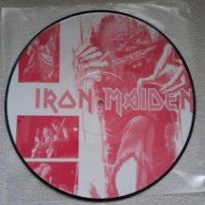 Discos de vinilo: IRON MAIDEN ROSKILDE LP PICTURE DISC METALLIA AC DC SAXON MEGADETH DIO DORO. Lote 289461448