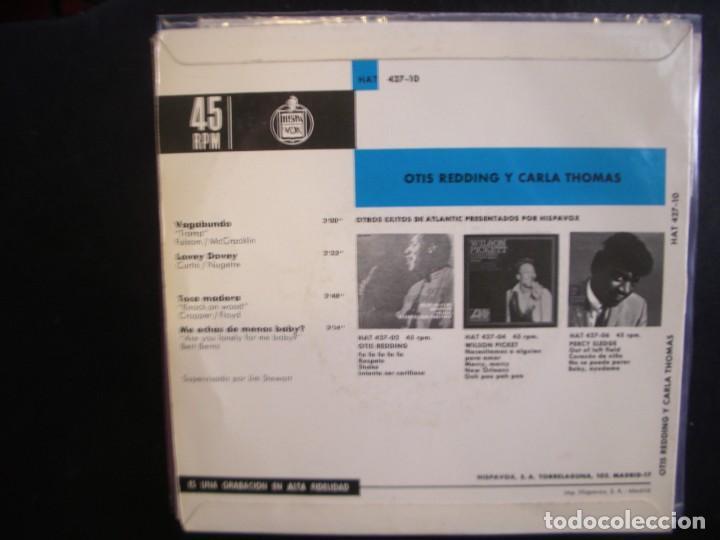 Discos de vinilo: OTIS REDDING & CARLA THOMAS - VAGABUNDO. EP - Foto 2 - 289461958