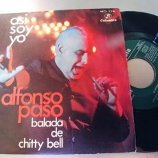 Discos de vinilo: ALFONSO PASO-SINGLE ASI SOY YO. Lote 289462888
