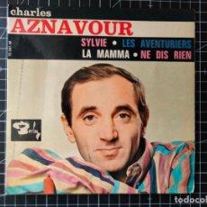 Discos de vinilo: CHARLES AZNAVOUR. BARCLAY.. Lote 289466363