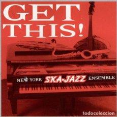 Discos de vinilo: NEW YORK SKA-JAZZ ENSEMBLE – GET THIS! -LP-. Lote 289466388