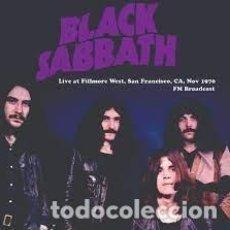 Discos de vinilo: BLACK SABBATH -LIVE AT FILLMORE WEST, SAN FRANCISCO, CA, NOV 1970 -LP-. Lote 289467183