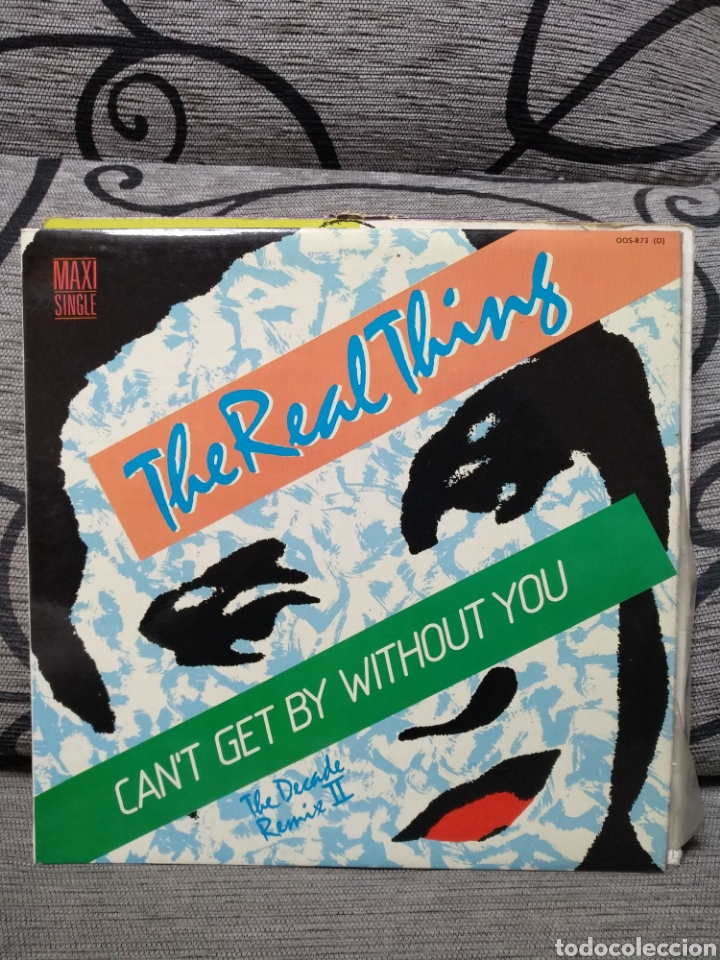 THE REAL THING – CAN'T GET BY WITHOUT YOU (THE DECADE REMIX II) (Música - Discos de Vinilo - Maxi Singles - Disco y Dance)