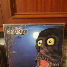 Discos de vinilo: CROSSFIRE / SECOND ATTACK / PRONIT 1986. Lote 289469303