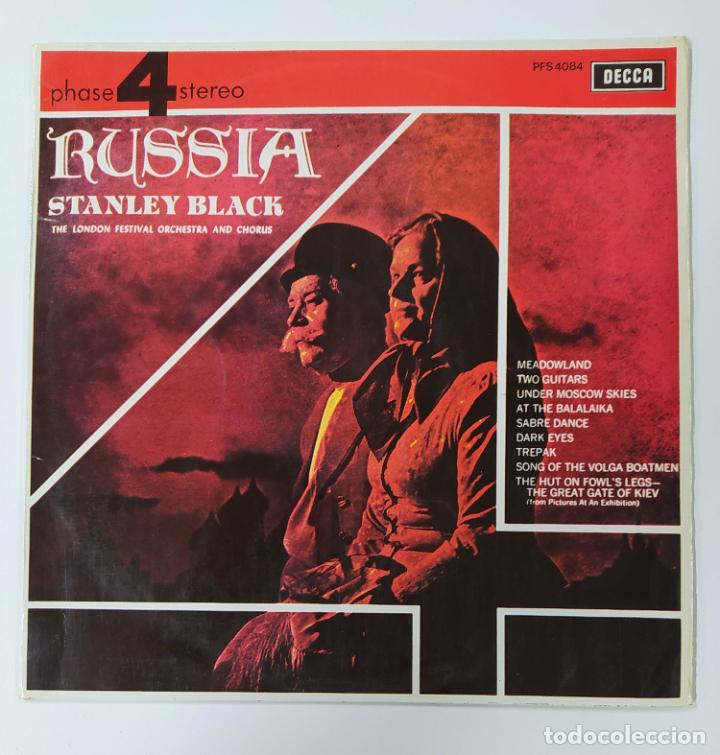 RUSSIA. STANLEY BLACK & THE LONDON FESTIVAL ORCHESTRA AND CHORUS. LP. TDKDA47 (Música - Discos - LP Vinilo - Orquestas)