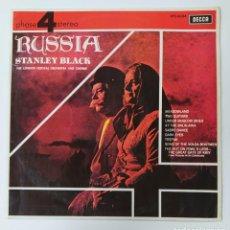 Discos de vinilo: RUSSIA. STANLEY BLACK & THE LONDON FESTIVAL ORCHESTRA AND CHORUS. LP. TDKDA47. Lote 289469663