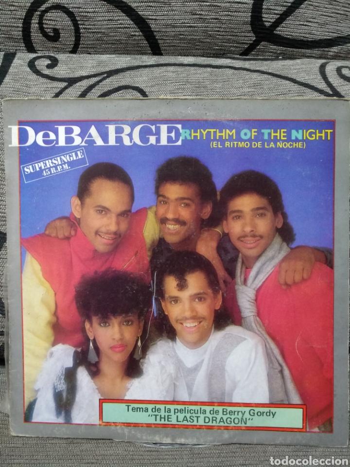 DEBARGE – RHYTHM OF THE NIGHT (Música - Discos de Vinilo - Maxi Singles - Disco y Dance)