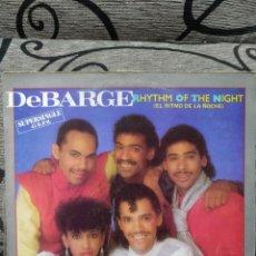 Discos de vinilo: DEBARGE – RHYTHM OF THE NIGHT. Lote 289469963