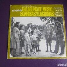 Discos de vinilo: RODGERS HAMMERSTEIN - THE SOUND OF MUSIC DE LA PELÍCULA SONRISAS Y LAGRIMAS - EP VERGARA 1966 - CINE. Lote 289473258