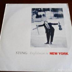 Discos de vinilo: STING - ENGLISHMAN IN NEW YORK - MAXI SINGLE.12 - 1988. Lote 289474818