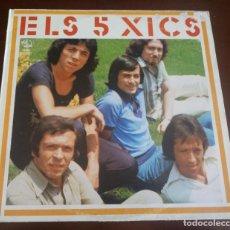 Discos de vinilo: ELS 5 XICS - LP - 1983 - MBE. Lote 289475588