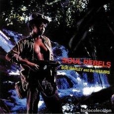 Discos de vinilo: BOB MARLEY & THE WAILERS – SOUL REBELS -LP-. Lote 289481523