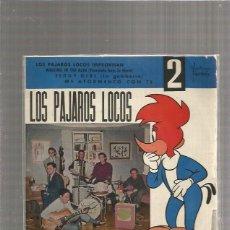 Discos de vinilo: PAJAROS LOCOS IMPROVISAN. Lote 289486723