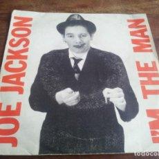 Discos de vinilo: JOE JACKSON - I'M THE MAN, COME ON - SINGLE ORIGINAL EPIC AM ESPAÑA 1979. Lote 289486953