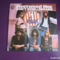 Discos de vinilo: FLEETWOOD MAC - DON'T STOP +1 - SG HISPAVOX 1977 - POP ROCK 70'S - USO LEVE. Lote 289486958