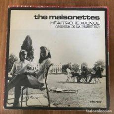 """Discos de vinilo: MAISONETTES - HEARTACHE AVENUE - 12"""" MAXISINGLE POLYDOR 1983. Lote 289487123"""