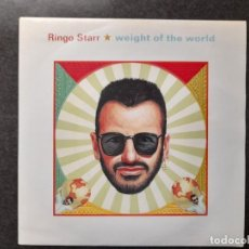 Discos de vinilo: SINGLE ESPAÑOL RINGO STARR BEATLES WEIGHT OF THE WORLD / AFTER ALL THESE YEARS 1992 SIN ESTRENAR. Lote 289487163