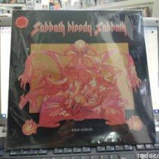 Discos de vinilo: BLACK SABBATH LP SABBATH BLOODY SABBATH REEDICION VINILO DE COLOR PRECINTADO. Lote 289488818