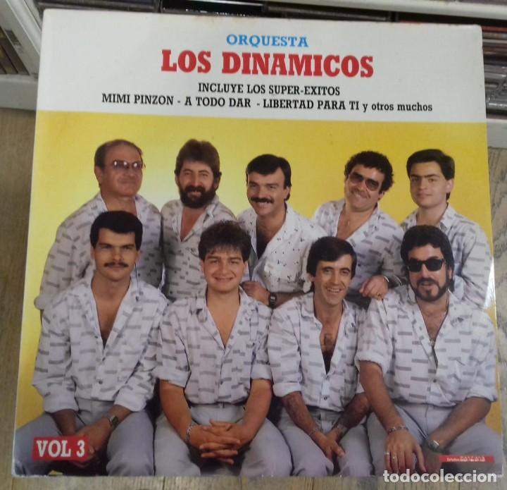 ORQUESTA LOS DINAMICOS VOL. 3 ED. ESPAÑOLA 1986 (Música - Discos - LP Vinilo - Orquestas)