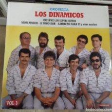 Discos de vinilo: ORQUESTA LOS DINAMICOS VOL. 3 ED. ESPAÑOLA 1986. Lote 289489288