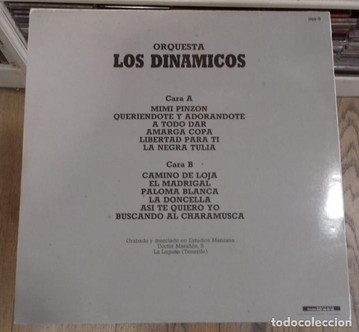 Discos de vinilo: ORQUESTA LOS DINAMICOS VOL. 3 ED. ESPAÑOLA 1986 - Foto 2 - 289489288