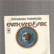 Discos de vinilo: EARTH WIND FIRE PODEROSO. Lote 289489538