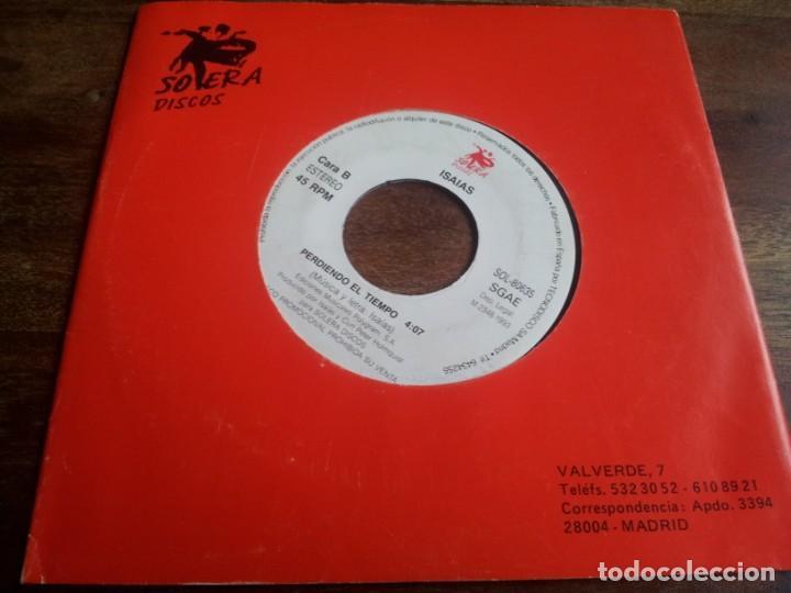 ISAIAS - PERDIENDO EL TIEMPO - SINGLE ORIGINAL PROMOCIONAL SOLERA DISCOS 1993 CON FUNDA GENERICA (Música - Discos - Singles Vinilo - Grupos Españoles de los 90 a la actualidad)