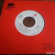 Discos de vinilo: ISAIAS - PERDIENDO EL TIEMPO - SINGLE ORIGINAL PROMOCIONAL SOLERA DISCOS 1993 CON FUNDA GENERICA. Lote 289489813