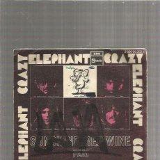 Discos de vinilo: CRAZY ELEPHANT SUNSHINE RED WINE. Lote 289490198