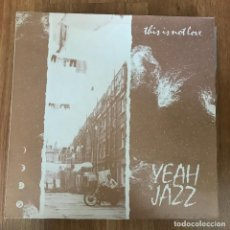 """Discos de vinilo: YEAH JAZZ - THIS IS NOT LOVE - 12"""" MAXISINGLE UPRIGHT UK 1986. Lote 289490373"""