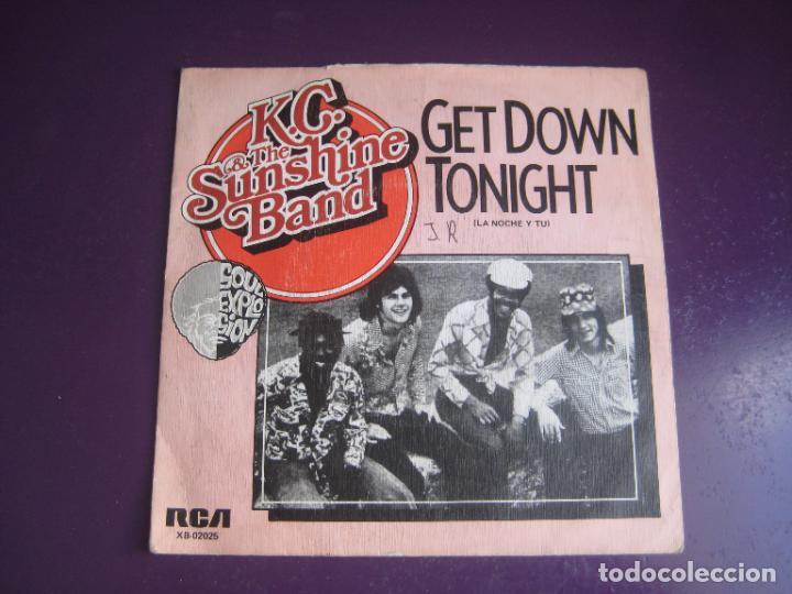 KC & THE SUNSHINE BAND – GET DOWN TONIGHT - SG RCA 1975 - DISCO 70'S - CON USO, NADA GRAVE (Música - Discos - Singles Vinilo - Disco y Dance)
