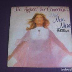 Discos de vinilo: THE ANDREA TRUE CONNECTION – MORE, MORE, MORE - SG BUDDAH 1976 - DISCO 70'S - CON USO, NADA GRAVE. Lote 289491103