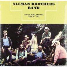 Discos de vinilo: LP-ALLMAN BROTHERS BAND/ LIVE AT OMNI ATLANTA 1973 (NUEVO PRECINTADO). Lote 289493693