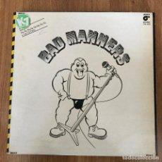 Discos de vinilo: BAD MANNERS - SKA 'N' B - LP MAGNET 1980. Lote 289494638